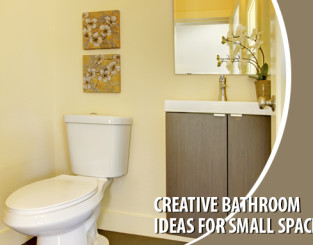 Creative Bathroom Ideas For Small Spaces