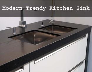 Modern Trendy Kitchen Sink