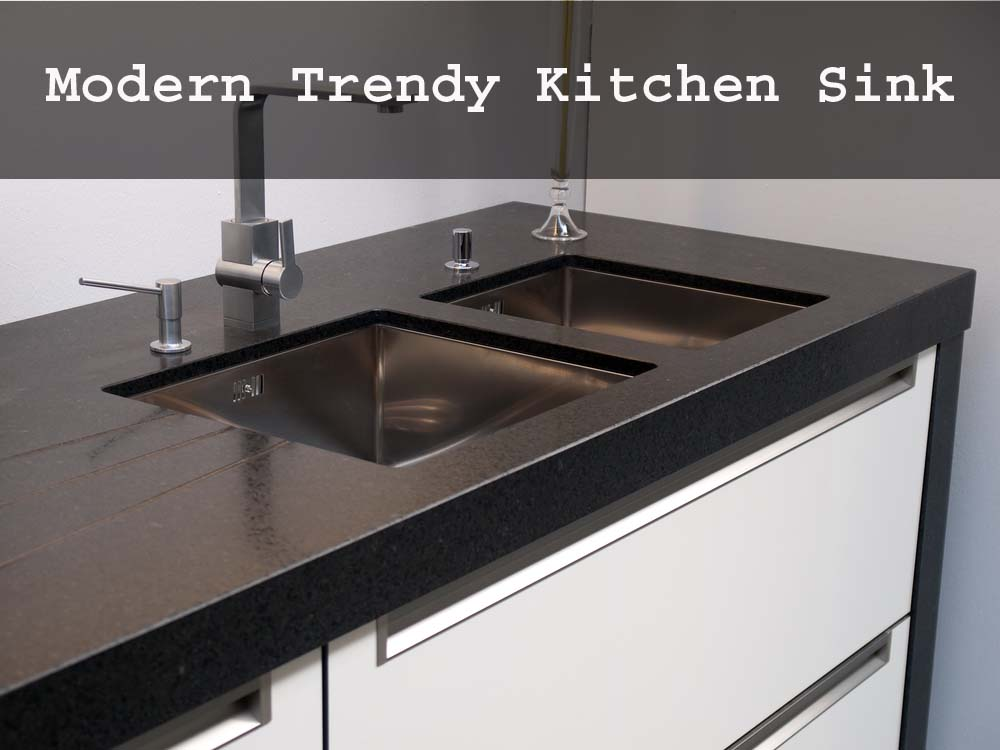 Modern Trendy Kitchen Sink