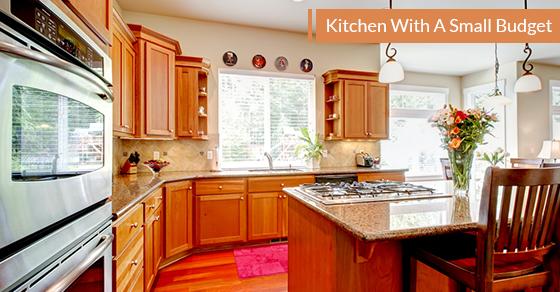 how to make a lively kitchen with a small budget avonlea