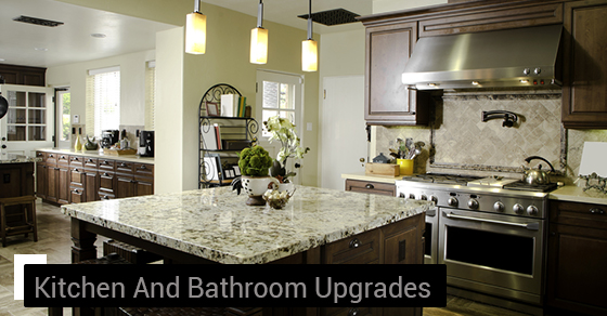 Kitchen And Bathroom Upgrades