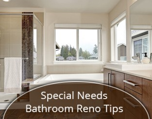 Special Needs Bathroom Reno Tips