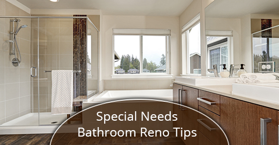 Special Needs Bathroom Reno Tips