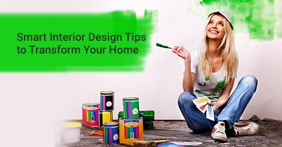 Smart women with her own interior designing tricks