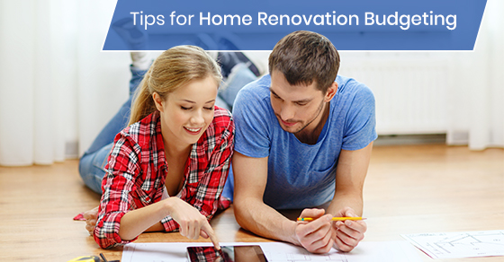 Budgeting for home renovation