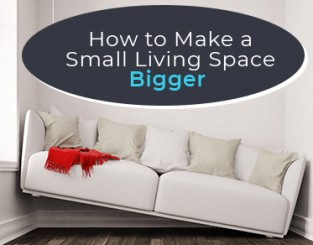How to Make a Small Living Space Bigger