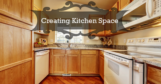 Creating Kitchen Space