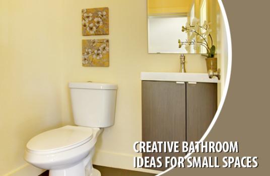 Creative Bathroom Ideas For Small Spaces