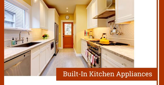 Built-In Wall Kitchen Appliances