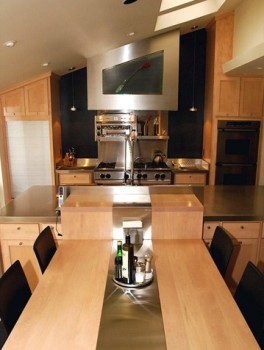 Unique Kitchen Space