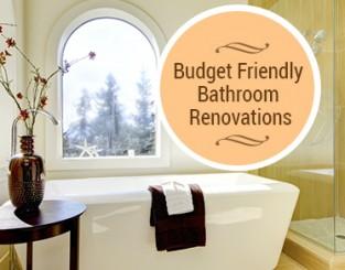 Budget Friendly Bathroom Renovations