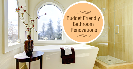 Budget Friendly Bathroom Renovations