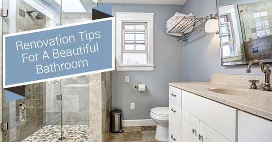 Renovation Tips For Bathroom