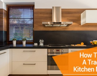 How To Make A Traditional Kitchen Modern