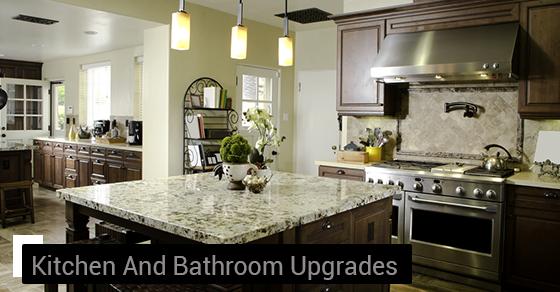 Kitchen And Bathroom Upgrades