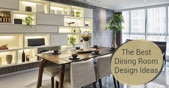 The Best Dining Room Design Ideas