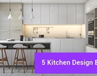 5 Kitchen Design Basics