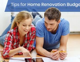 Budgeting for home renovation