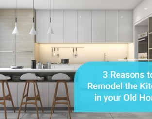 Reasons to remodel old kitchen
