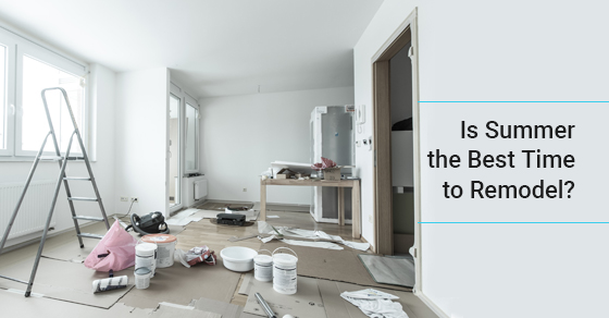 Best time for home renovation