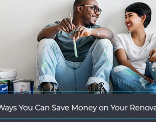 Tips to save money on renovations