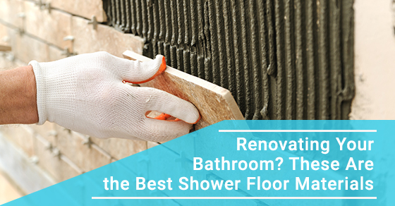 Best shower floor materials for your bathroom renovation.