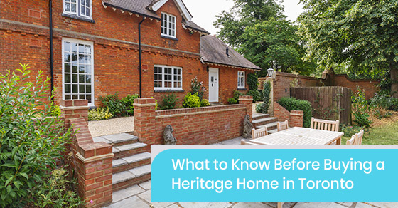 Things to know before buying a heritage home