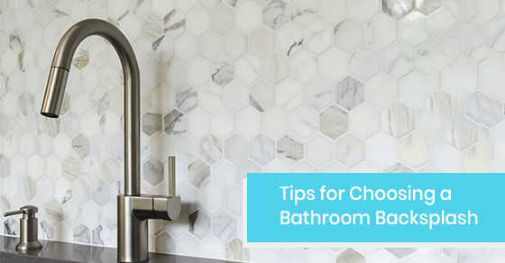 How to choose the ideal bathroom backsplash?