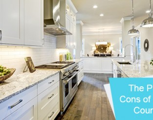 The pros and cons of granite countertops
